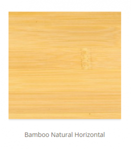 Bamboo Natural Horizontal