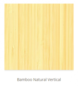 Bamboo Natural Vertical