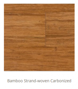 Bamboo Strand Woven Carbonized