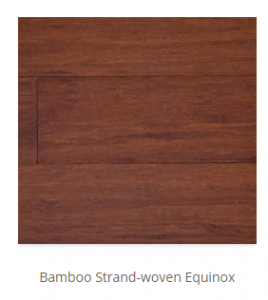 Bamboo Strand Woven Equinox