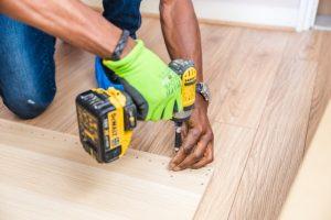 Brampton Wood Flooring worker