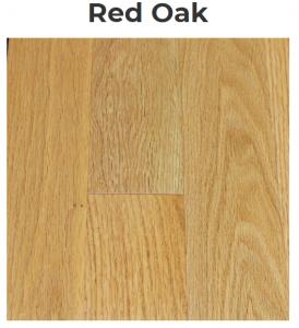 Red Oak Pattern Flooring