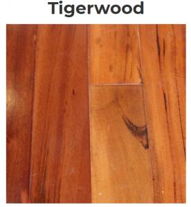 Tigerwood Pattern Flooring