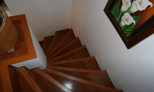 Brampton Wood Flooring hardwood stair