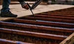 Brampton Wood Flooring caulking preparation