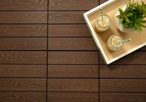 Patio tile flooring project 2